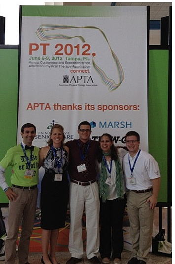 University of Pittsburgh DPT Class of 2014 at Annual Conference